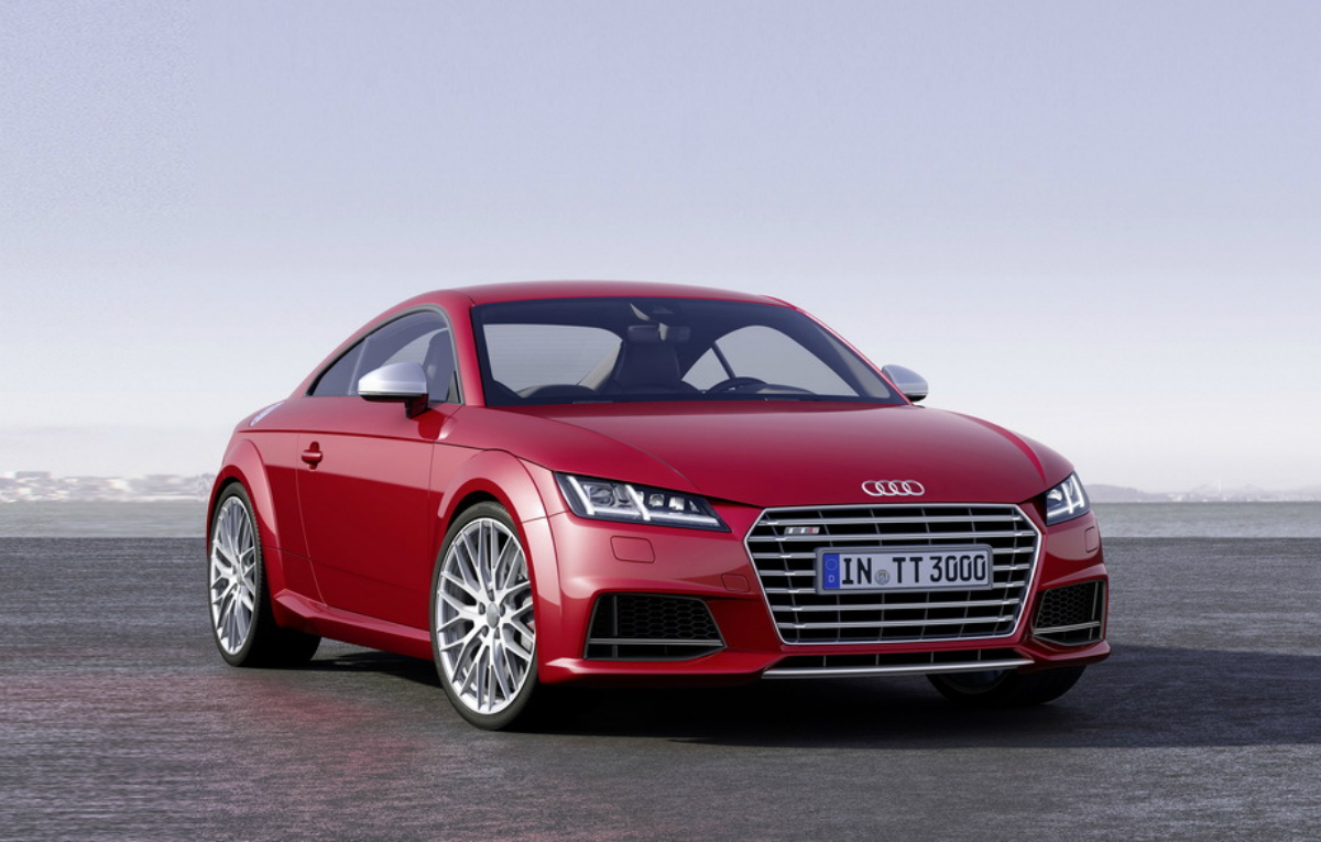 2015 Audi TT – Official pictures and details live from Geneva