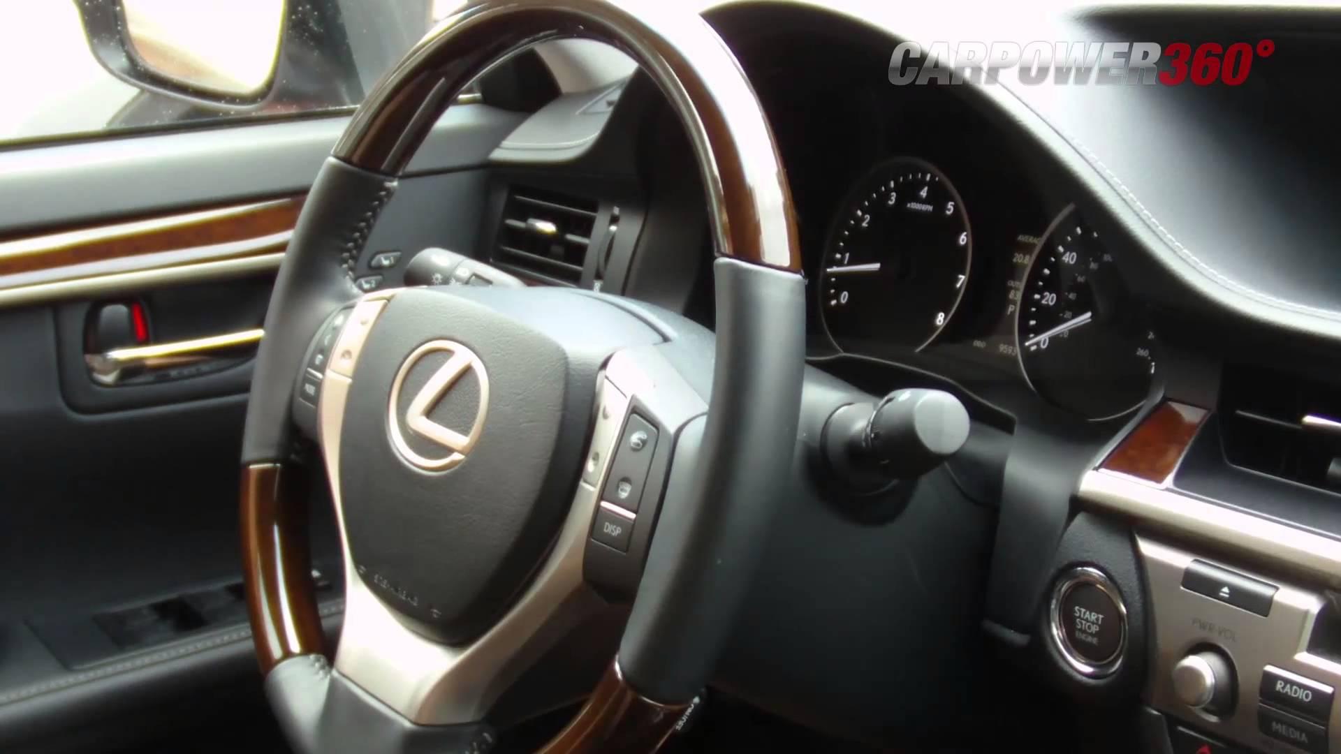 Video 2013 Lexus Es350 Test Drive Carpower360