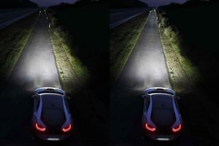 BMW i8 laser headlights