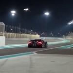 McLaren P1 Yas Marina